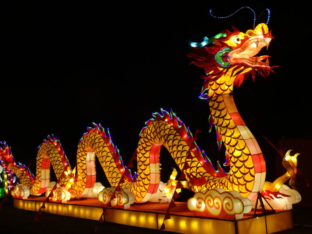 China light festival calais