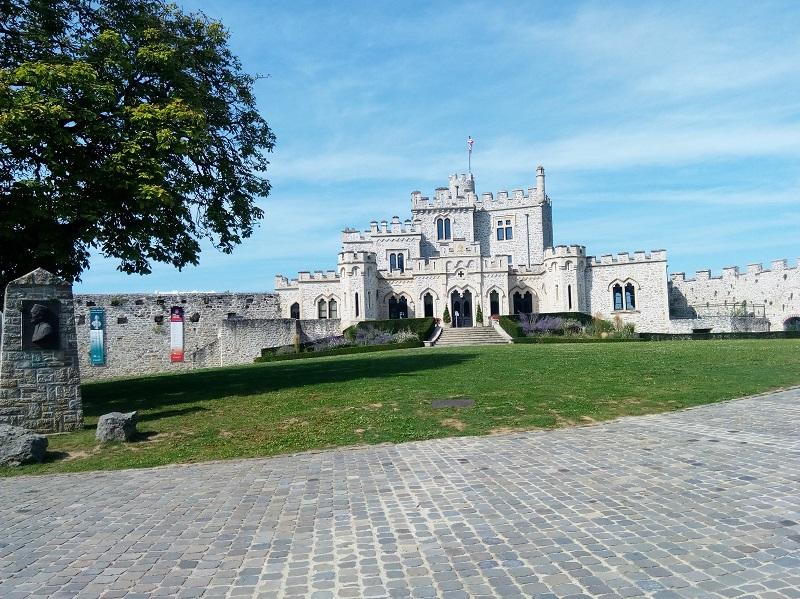Découverte du château d'Hardelot